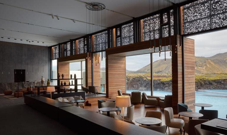 Los recubrimientos de ICA Group, en el Retiro de la Laguna Azul de Islandia