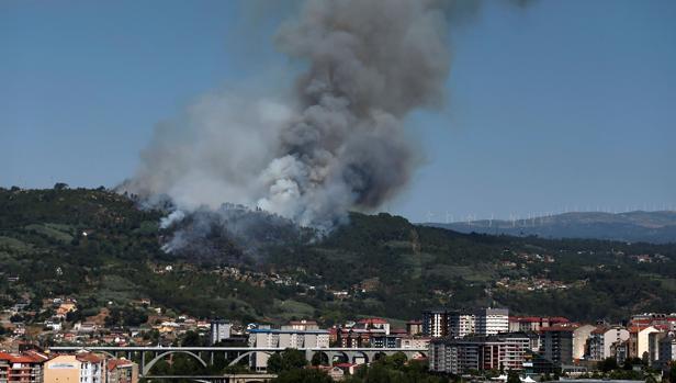 Proteger la interfaz urbano forestal, una preocupación añadida a los graves incendios que asolan Orense