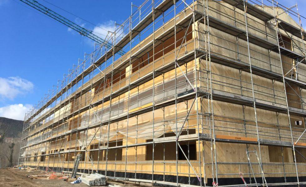 Edificios de altura con madera, en REBUILD