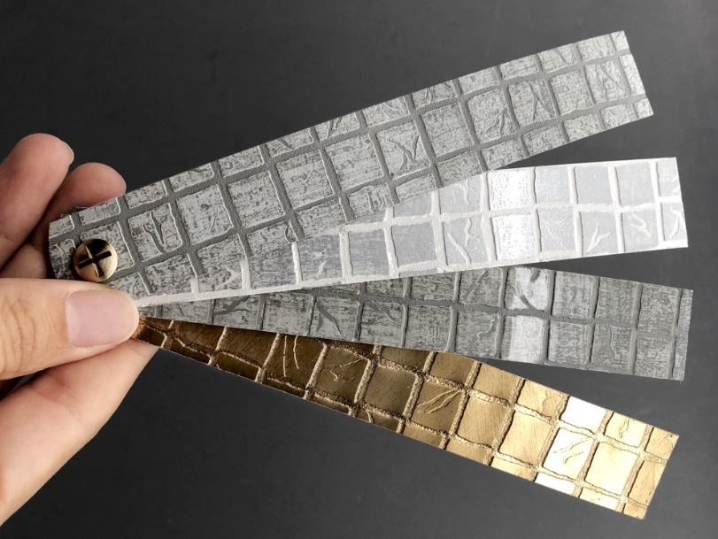Mosaico con Relieve, nuevo canto decorativo de CANTISA