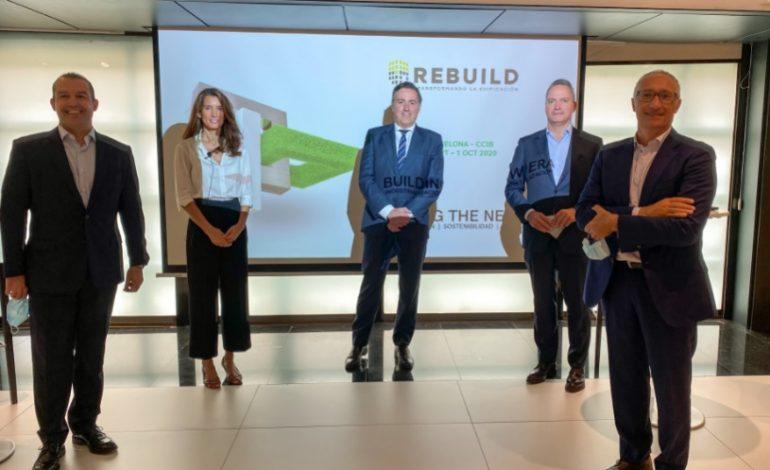 REBUILD 2020 marcará la hoja de ruta del futuro de la edificación