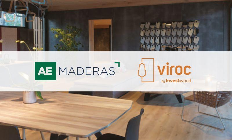 AE Maderas firma un acuerdo con INVESTWOOD para la distribución de VIROC®