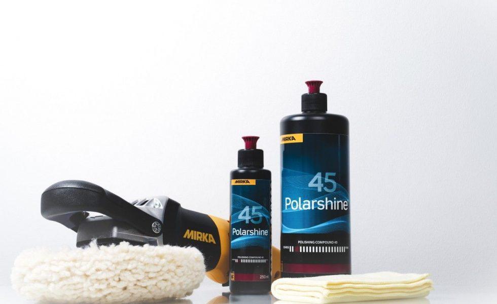 POLARSHINE® 45: Nueva pasta de pulido basto de MIRKA