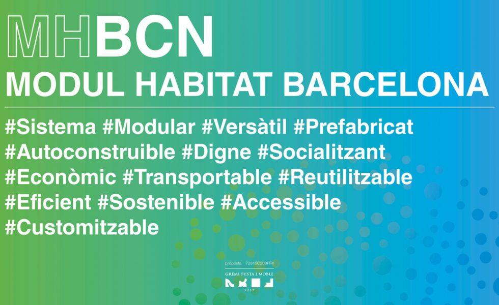 MODULO HABITAT BARCELONA se hará realidad gracias al Ayuntamiento de Barcelona