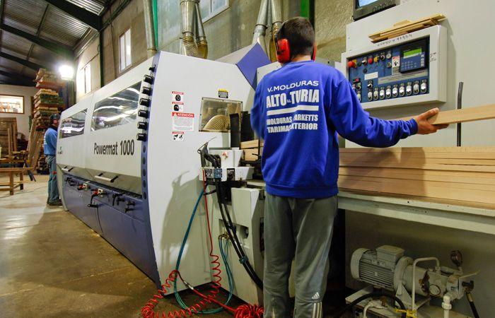 MOLDURAS ALTO TURIA reforzará su producción con una inversión en maquinaria
