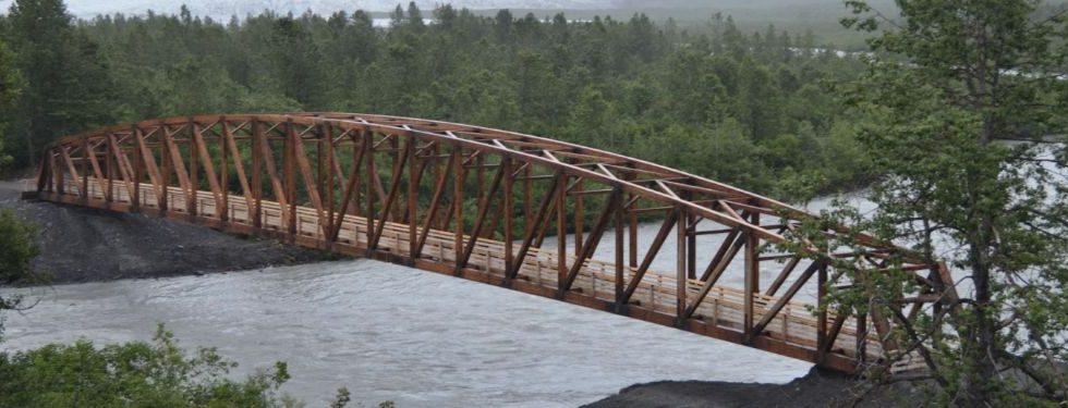 Tratamiento con CuNap para puentes de madera ganando tracción de IWT-Moldrup