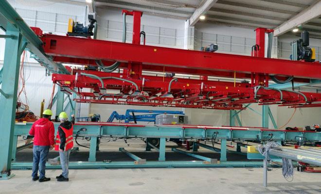 La primera planta gallega de tableros CLT de pino despegará en enero en Coirós