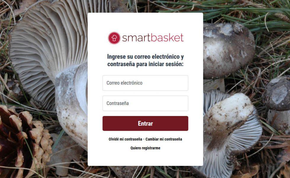 La aplicación smartbasket convierte el teléfono móvil del recolector de setas en una cesta inteligente