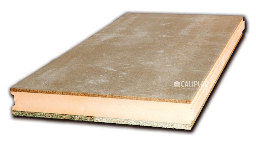 Panel de cemento-madera CVXH