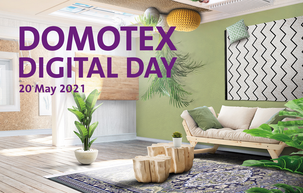 DOMOTEX 2021 será finalmente Domotex Digital Day