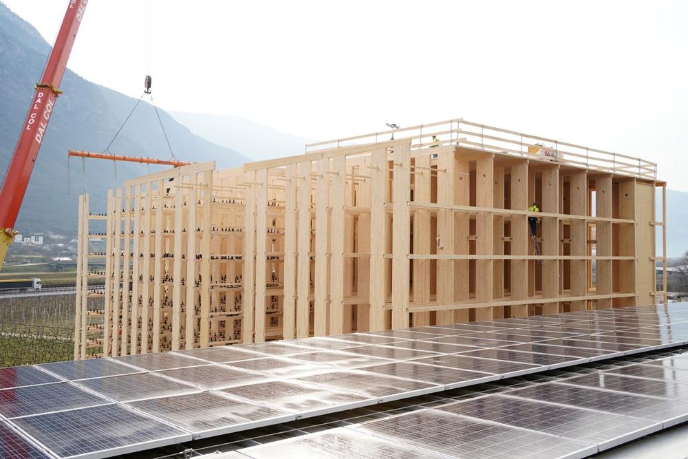 ROTHOBLAAS está construyendo un innovador almacén automático