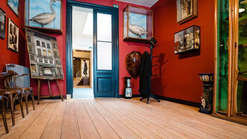 La casa de James Ensor, restaurada usando RUBIO MONOCOAT