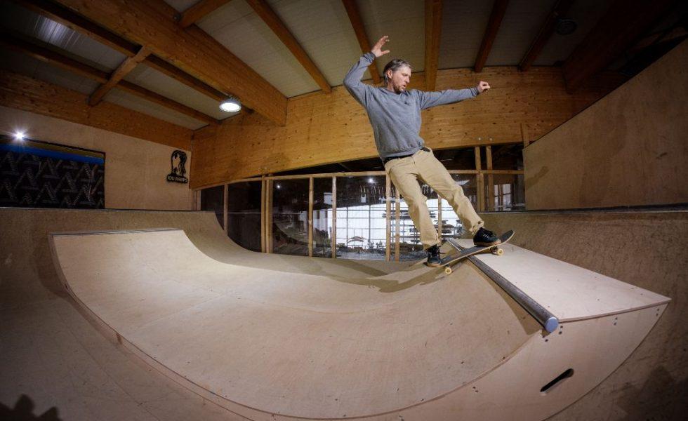 La rampa de skate perfecta