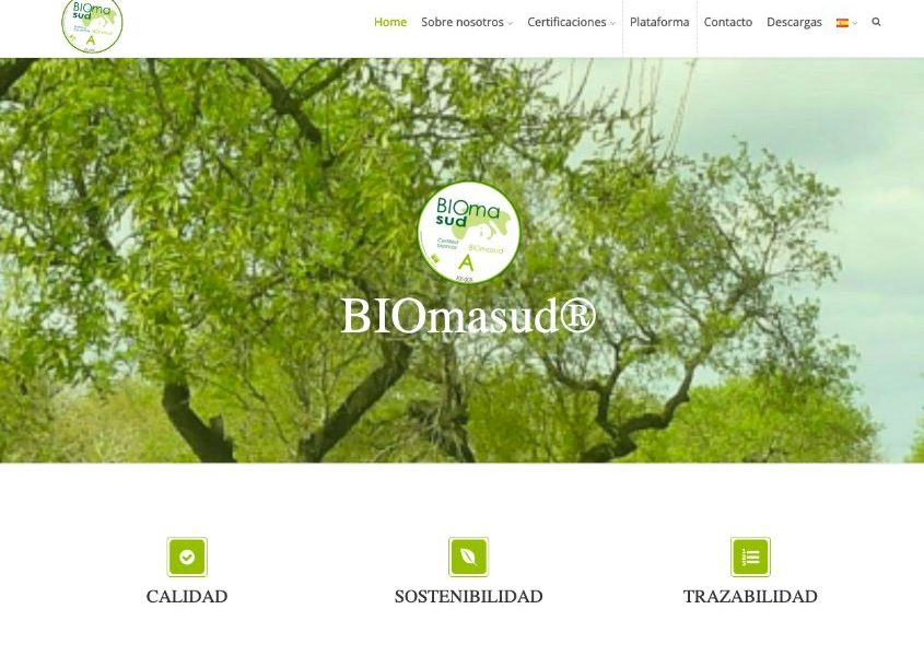 El sistema de certificación BIOmasud® estrena web