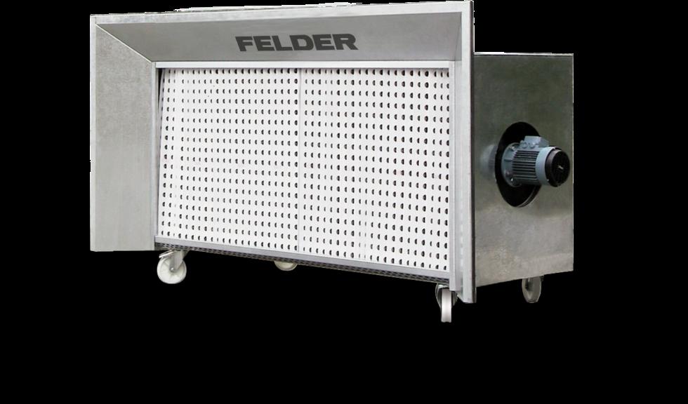 FELDER ofrece la solución de filtrado ideal para cada taller