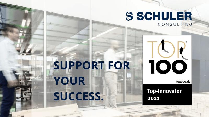 SCHULER Consulting ha sido galardonada con la etiqueta TOP 100 2021
