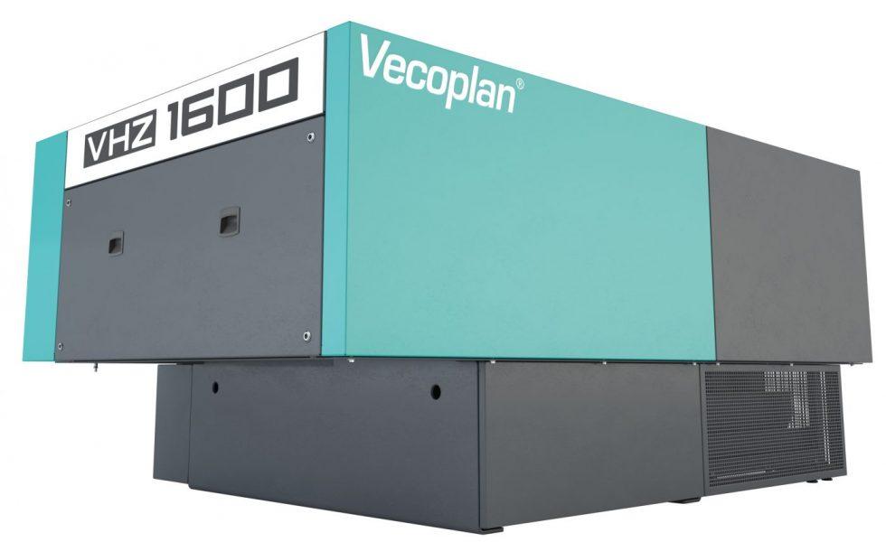 VHZ 1600: Trituración de madera energéticamente eficiente