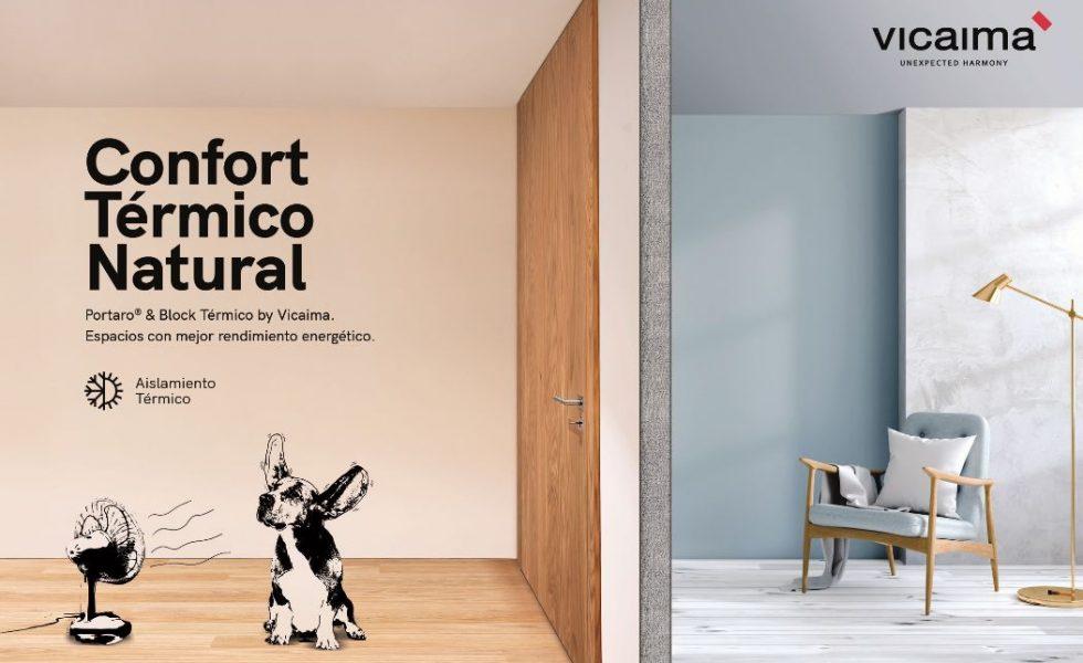 VICAIMA lanza el nuevo Portaro® y Block Térmico y mejora el rendimiento energético del espacio