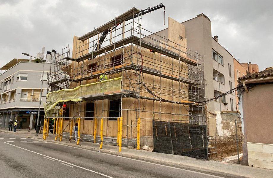 Avanzan los trabajos del TG1 sobre edificación en altura con madera