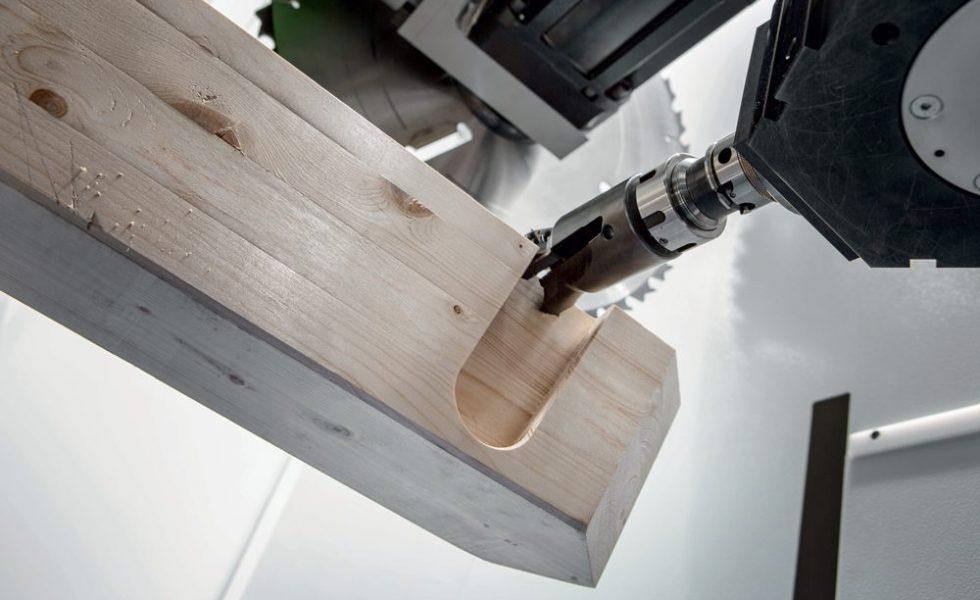 UNITEAM: La tecnología de BIESSE para la construcción con madera