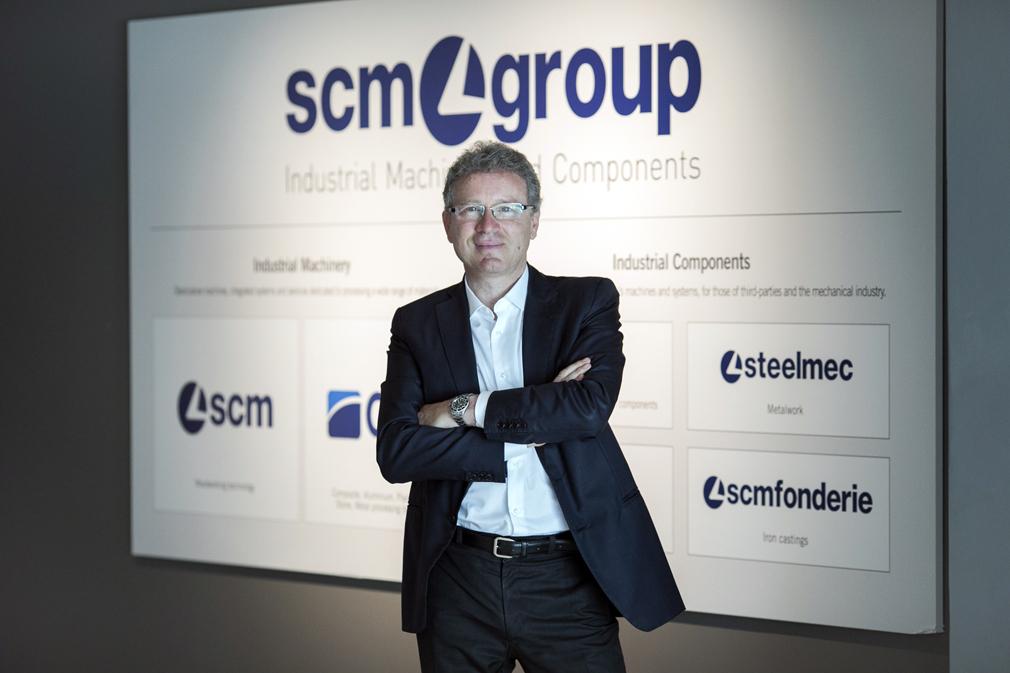 Marco Mancini nombrado CEO de SCM Group