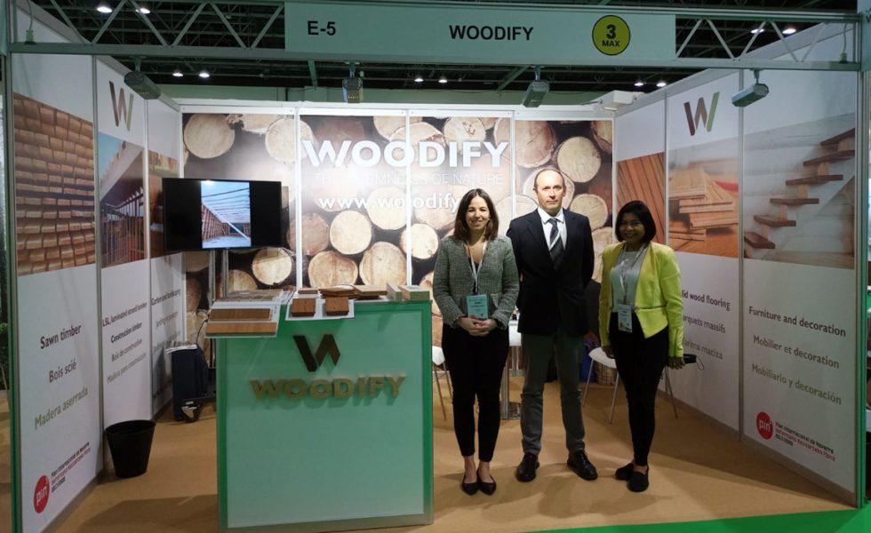 WOODIFY lleva a Dubái los productos de madera de Navarra