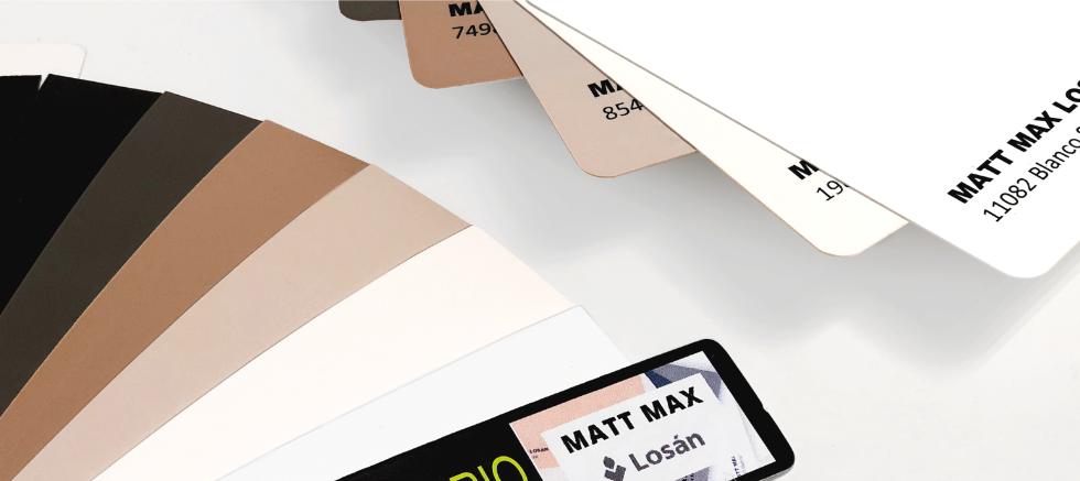 CANTISA ya dispone de cantos en stock para la colección Matt Max de LOSÁN