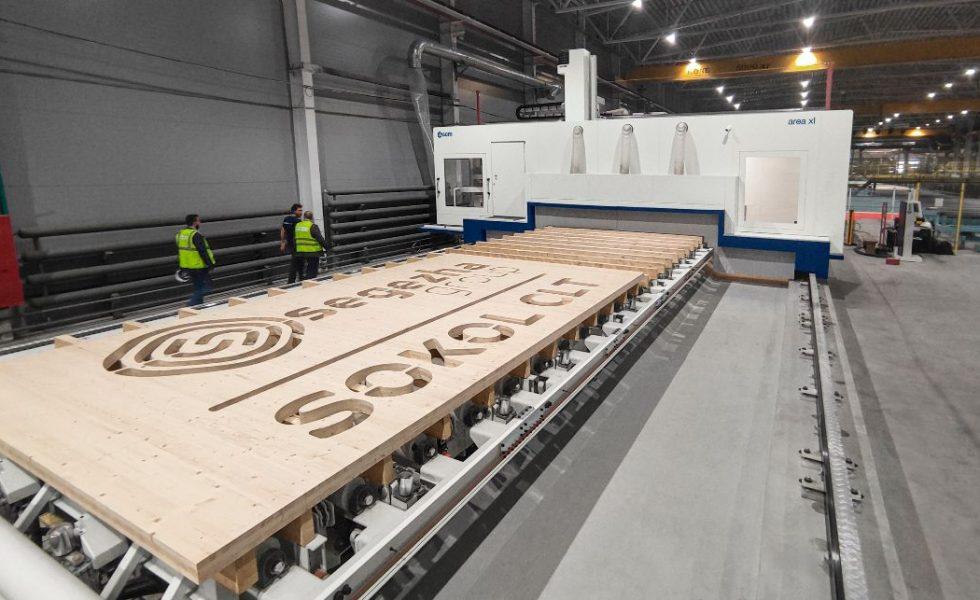 AREA XL acapara los focos en la primera planta de producción de CLT en Rusia