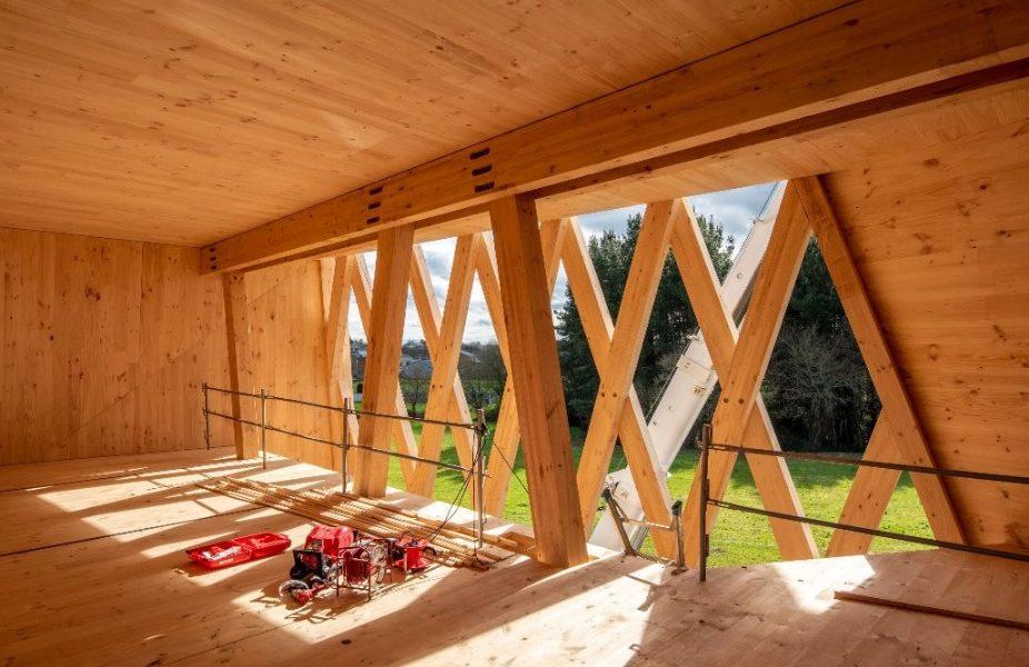 EGOIN construye el primer edificio verde de Galicia