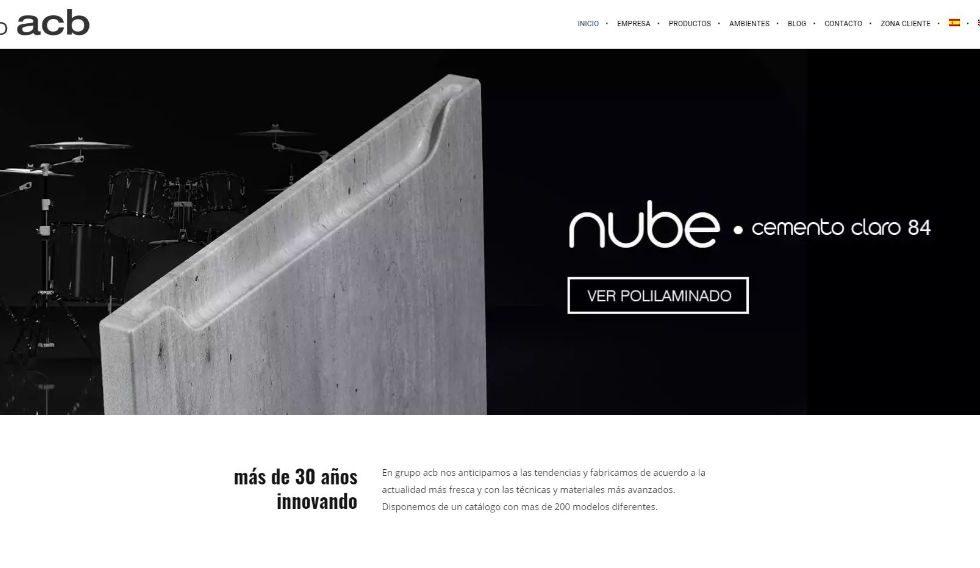 GRUPO ACB estrena web