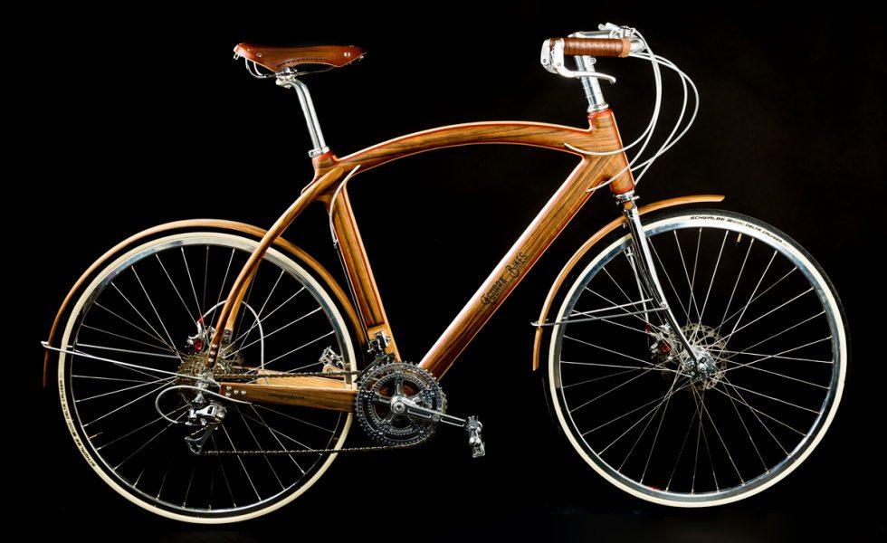 EGURRA BIKES: Espectaculares bicicletas de paseo… de madera
