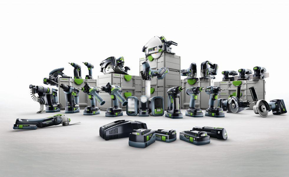 FESTOOL presenta sus soluciones a batería 2021
