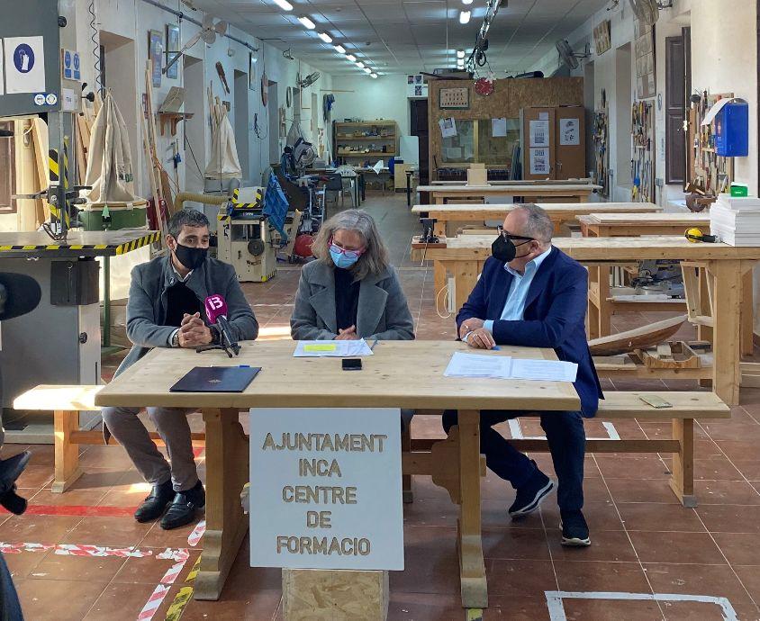 Baleares impulsa la formación de jóvenes en el sector de la madera