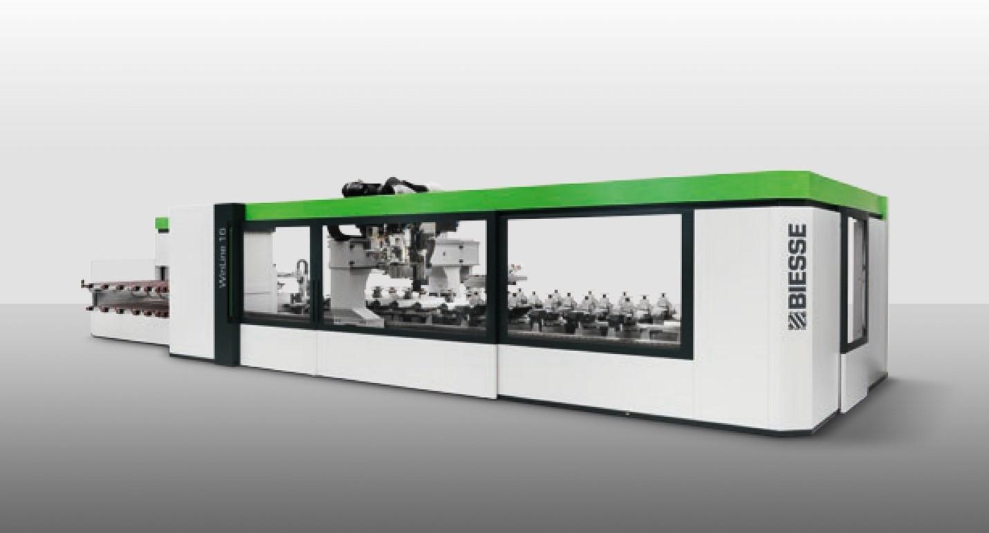 Primer centro de fabricación de ventanas BIESSE WINLINE 16 en España