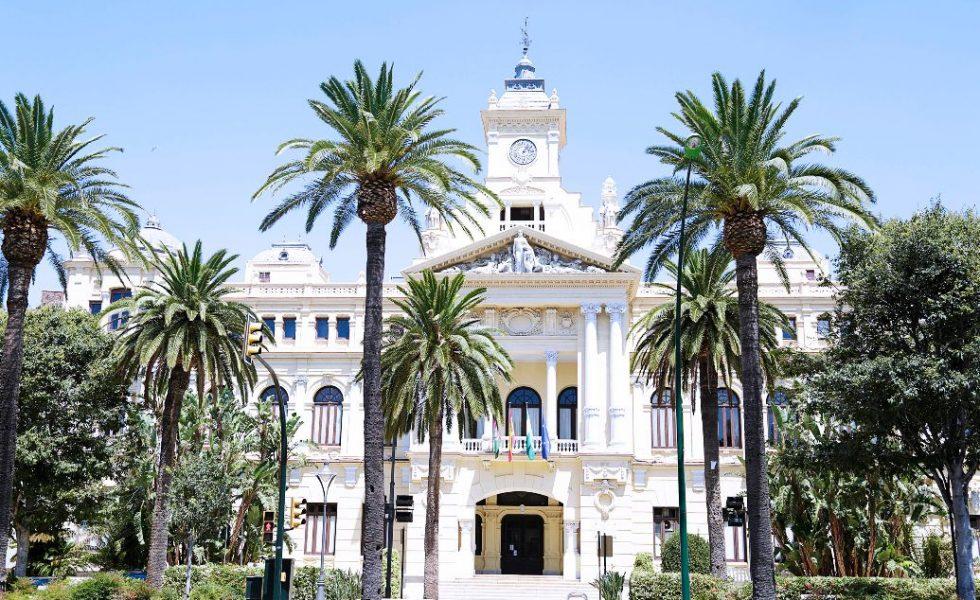 Renovación de la carpintería exterior del Ayuntamiento de Málaga