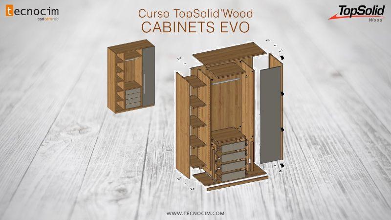 TOPSOLID WOOD: Introducción al diseño de armarios utilizando librerías