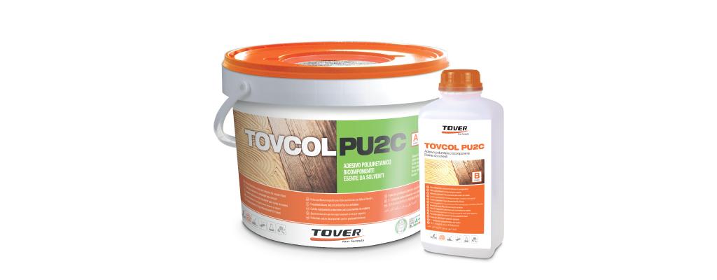 Tovcol PU2C, adhesivo de poliuretano para colocar parquet