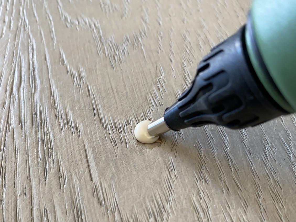 QUIDE lanza un kit profesional para reparación de la madera