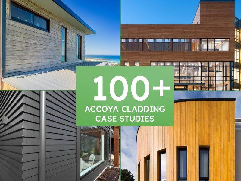 Más de cien proyectos de fachadas con ACCOYA®