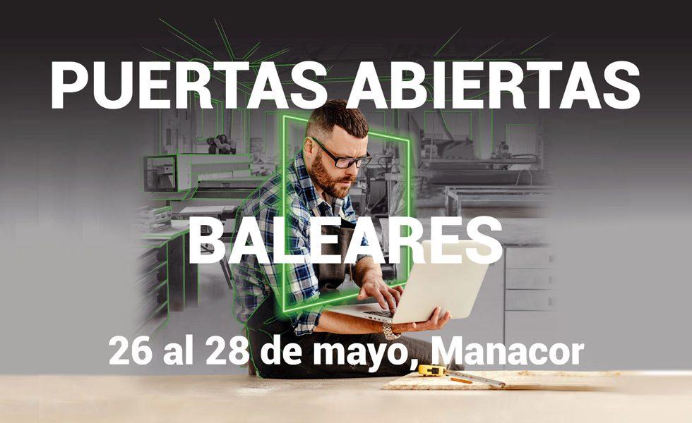 BIESSE Ibérica les invita a unas nuevas jornadas de puertas abiertas en Baleares
