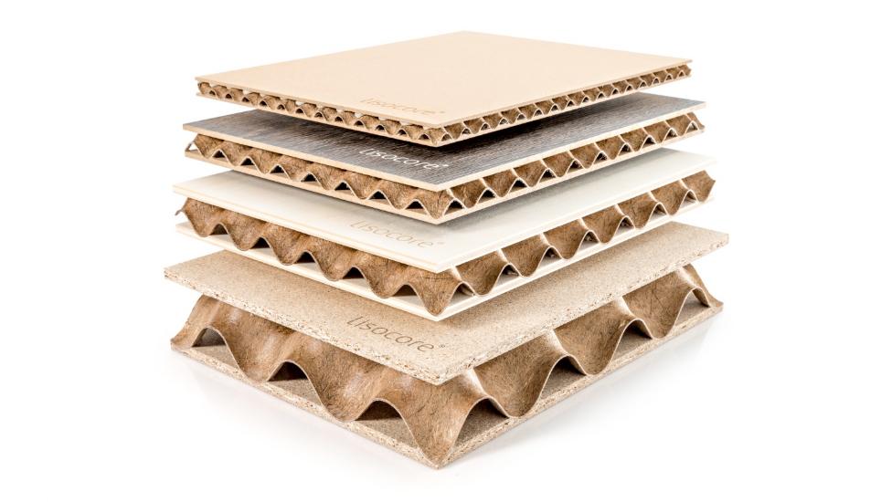 LISOCORE®, el panel atamborado increíblemente ligero, estable y resistente