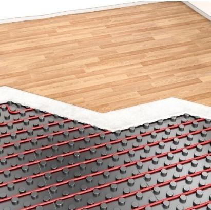 Calefacción por suelo radiante y suelos de madera, ¿es posible?