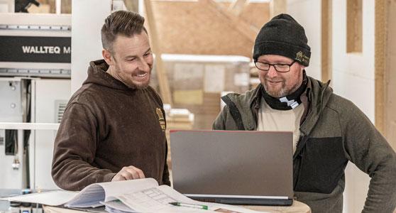 Comienzan los eventos on line de HOMAG sobre construcción en madera