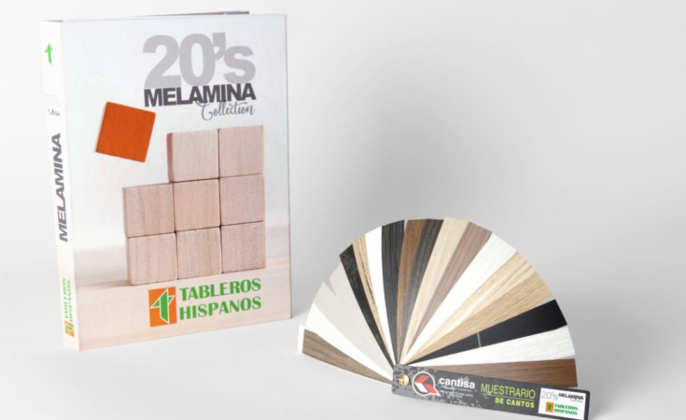 CANTISA dispone de cantos para «20s Melamina Collection» de TABLEROS HISPANOS