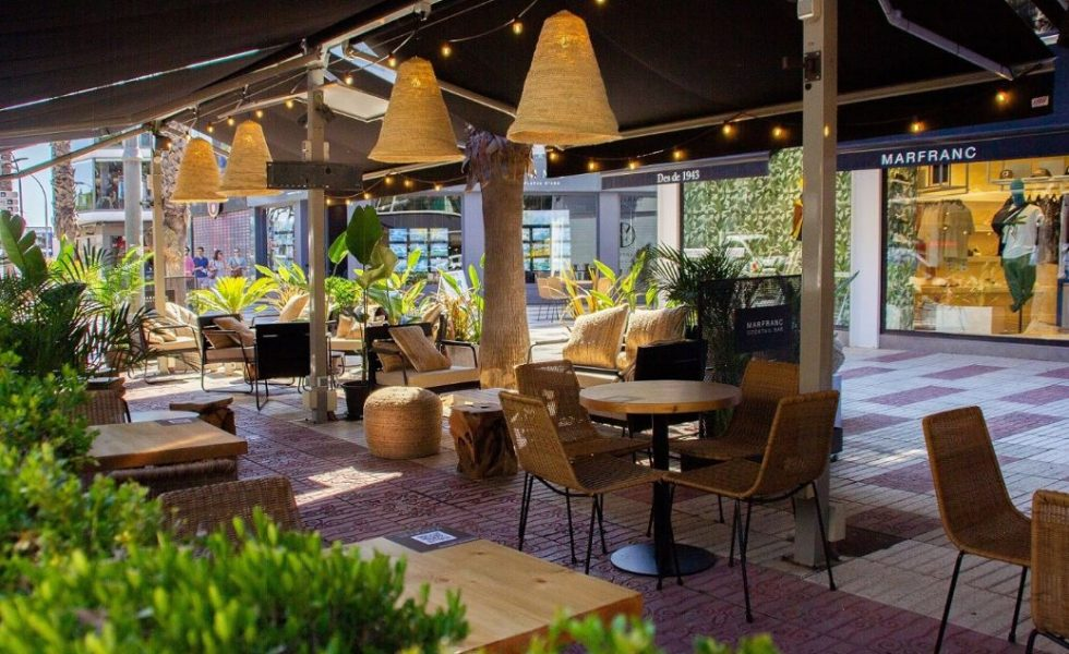 118 STUDIO diseña la terraza de la Concept Fashion Store Marfranc en la Costa Brava
