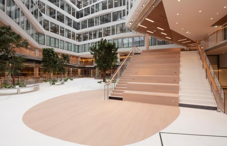 La nueva sede sostenible de ORANGE revela todo el potencial del bambú MOSO