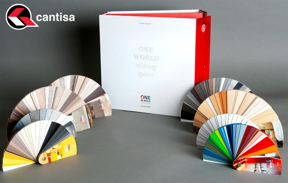 """CANTISA dispone de cantos para """"One World Collection 2020"""" de SWISS KRONO"""