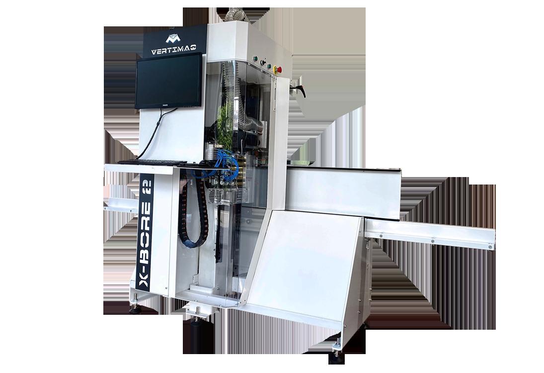 VERTIMAQ abre el futuro de la carpintería con su X-BORE 2