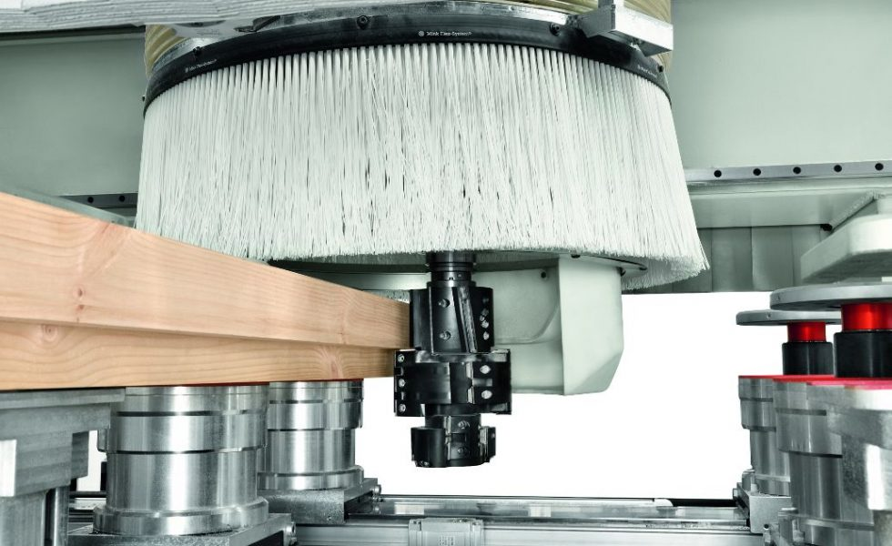 Nueva gama de centros de mecanizado SCM para madera maciza