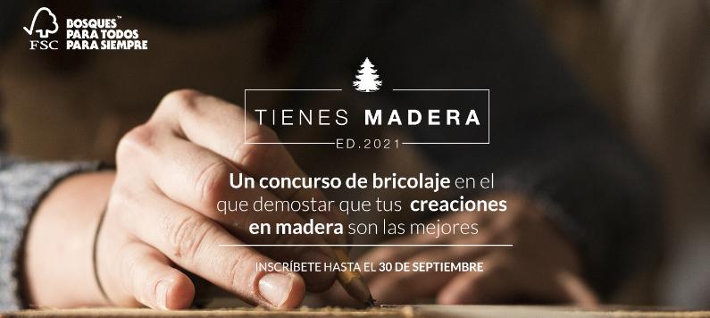 FSC España lanza la primera edición del concurso de bricolaje «Tienes Madera»